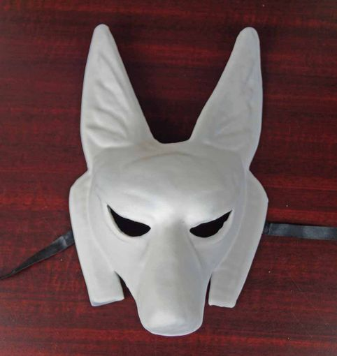 Unpainted Pharaoh Mask