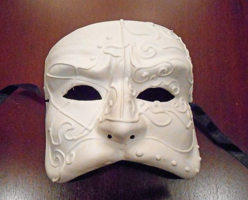 Unpainted Theater Mask