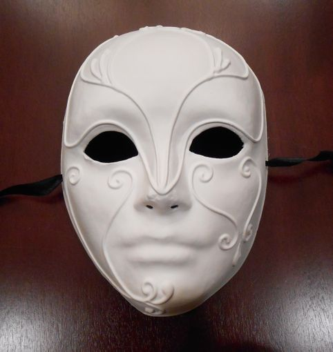 Unpainted Theatrical Mask