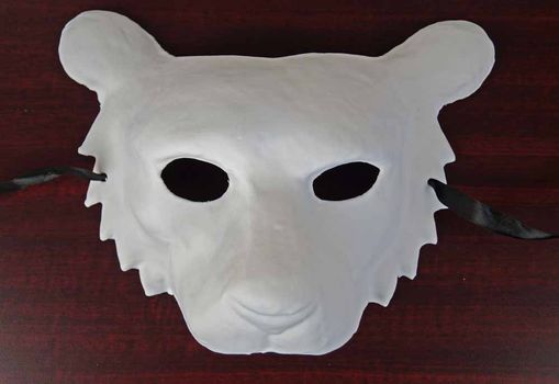 Unpainted Tiger Mask