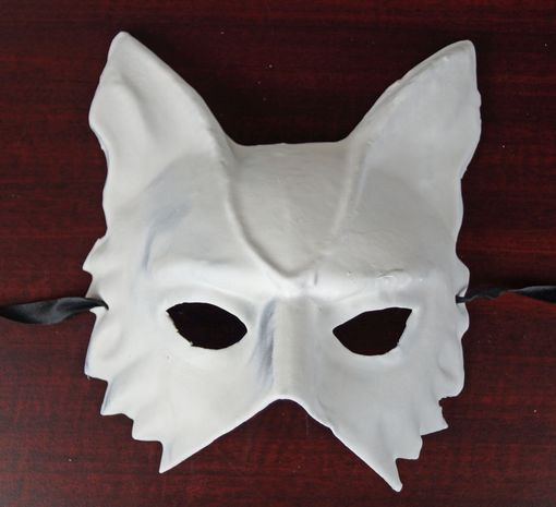 Unpainted Wolf Mask