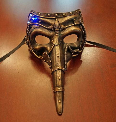 Urbatrex Steam Punk Mask With Flashing Lights