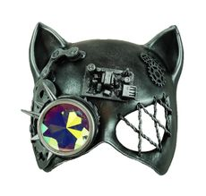 Utopia Steampunk Cat Mask