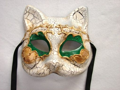 Venetian Gatto Eye Mask