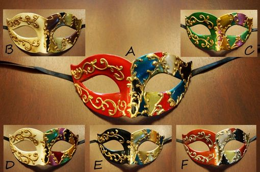 Venetian Hand Painted Masks