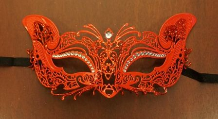 Venetian Lazer Cut Eye Mask