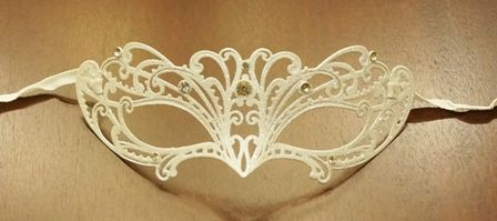 Venetian Lazer Cut Masquerade Eye Mask