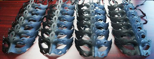 Venetian Mask Party Pack Black