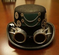 Ventron Steampunk Top Hat