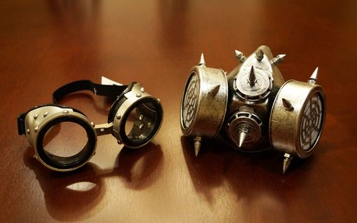 Vex Gas Mask And Goggles Costume Accessory