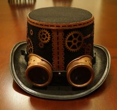 Vex Steampunk Top Hat
