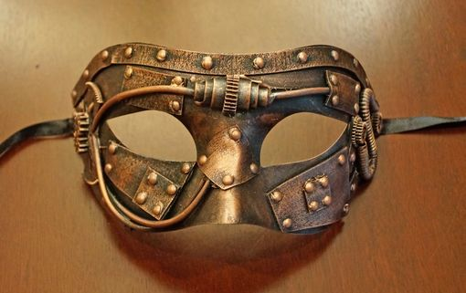 Vextor Steam Punk Eye Mask Bronze