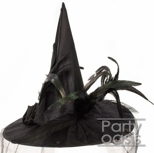 Victorian Black Witch Hat