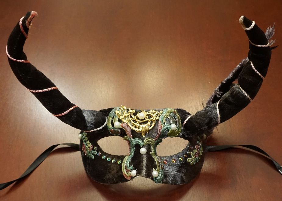 Whimsical Masquerade Mask