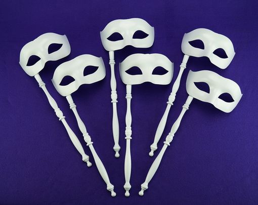 White Stick Mask Party Pack