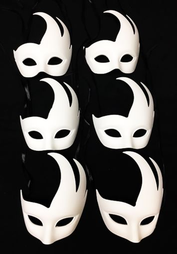 White Swan Venetian Masquerade Mask Party Pack