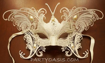 Winged Masquerade Mask