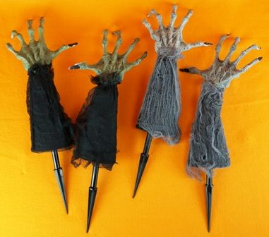 Witch or Zombie Lawn Stakes
