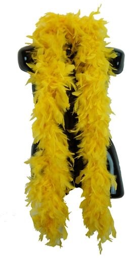 Yellow Feather Boa 70 Gram