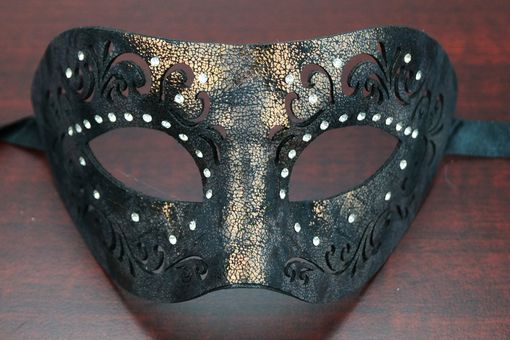 Yolanda Leather Mask Dark Bronze