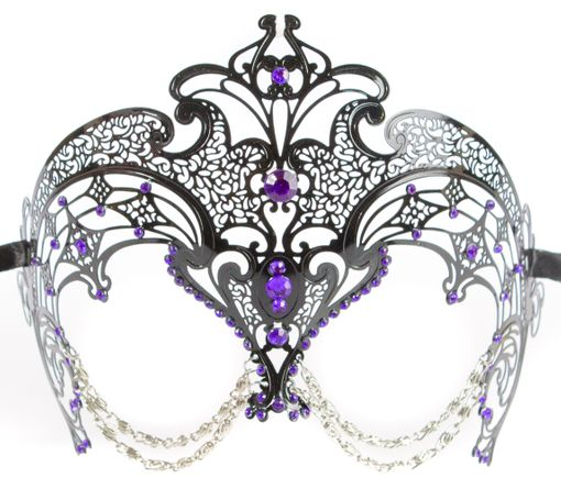 Zakarra Metal Eye Mask Puple