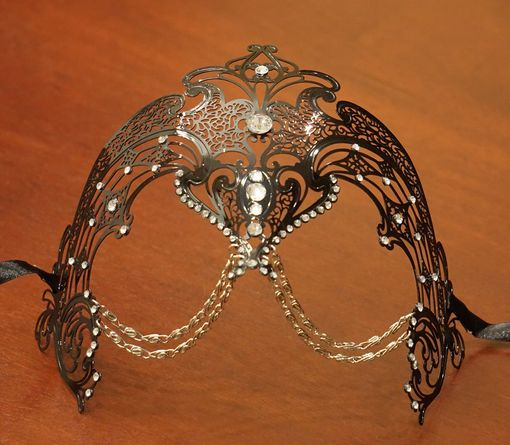 Zakorro Metal Eye Mask Black