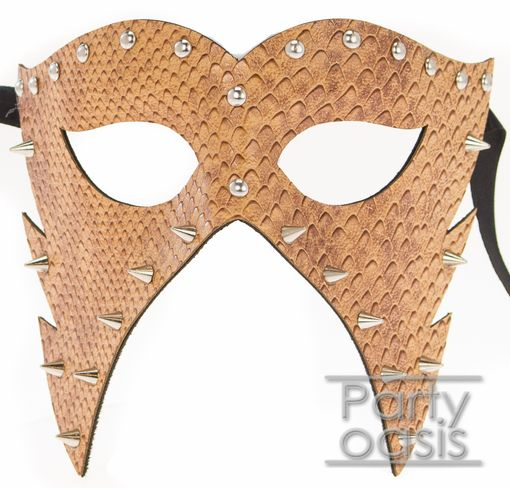Zolan Spiked Mask Tan