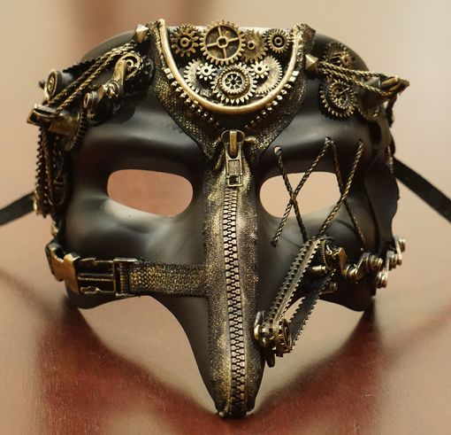Zolar Steampunk Men's Mask