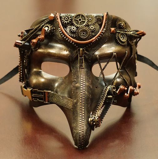 Zotar Steampumk Mask