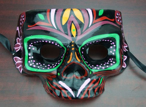 Zulu Tribal Skull Mask