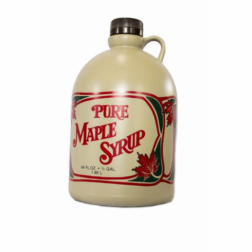 1/2 Gallon Maple Syrup-Handy Jug