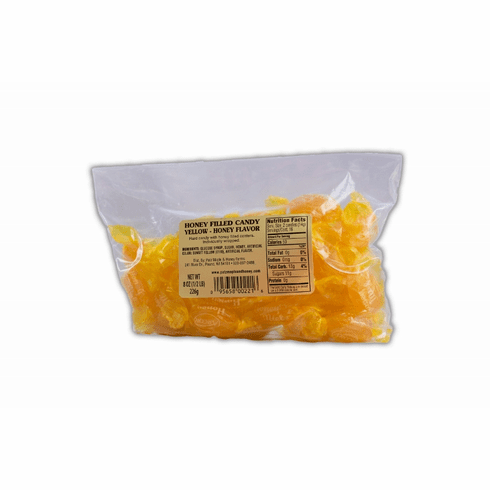 1/2 lb. Bag, Honey Candy, Plain - Yellow