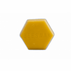 1/2 lb., Beeswax, Hex Shape