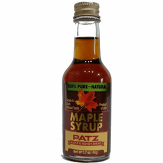 1.7 oz. Maple Syrup-Glass Bottle
