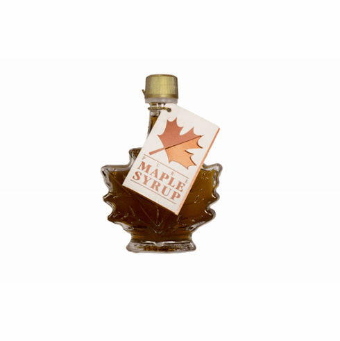 1.7 oz. Maple Syrup-Maple Leaf Bottle