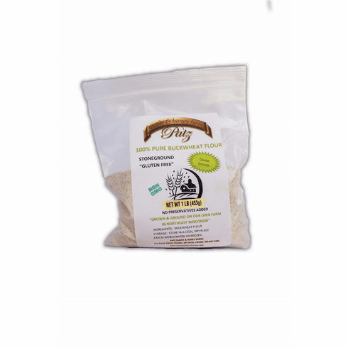1 lb Bag Pure Buckwheat Flour
