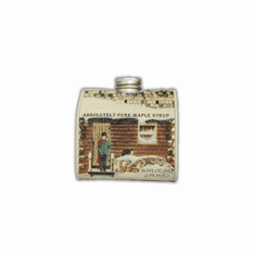 1 Pint, Maple Syrup, Traditional Tin Cabin