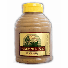 13 oz., Honey Mustard, Plastic Squeeze Bottle