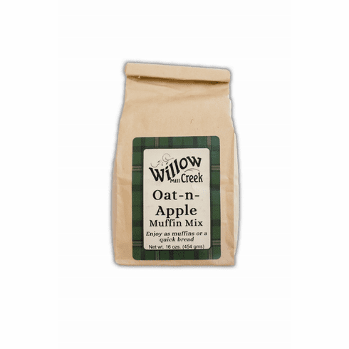 16 oz., Muffin Mix -- Oat-n-Apple