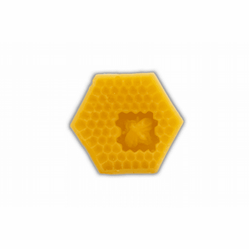2 oz., Beeswax, Hex Shape