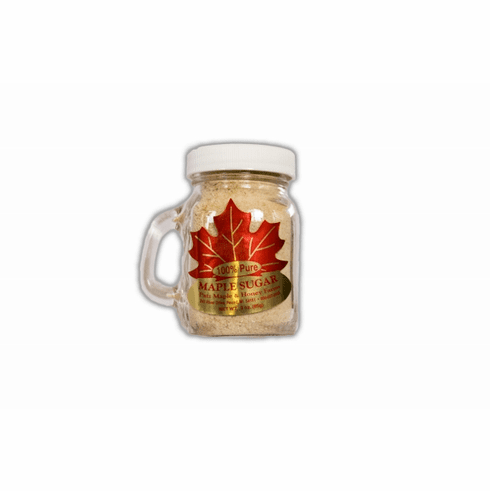 3 oz., Pure Granulated Maple Sugar, Glass Mug