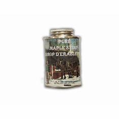 4.2 oz,, Maple Syrup, Traditional Tin, Round