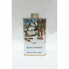 4.75 oz. Maple Syrup-Traditional Tin