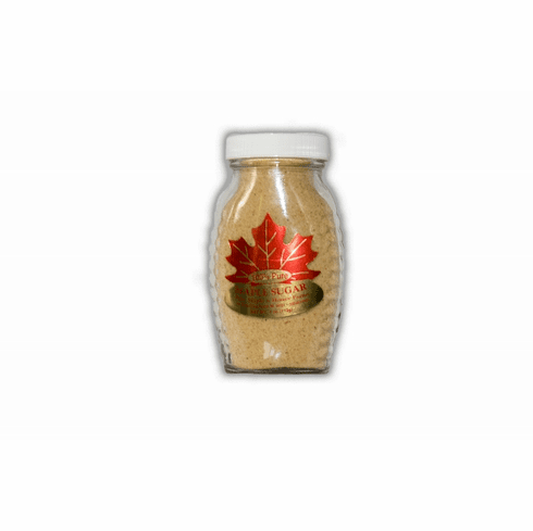 4 oz., Pure Granulated Maple Sugar, Glass Btl