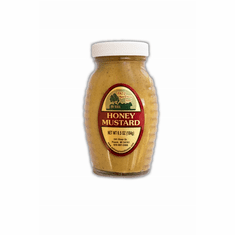 6.5 oz., Honey Mustard, Glass Bottle