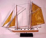 An antique ship weathervane from Cape Cod.