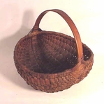 Antique Buttocks bottom basket.