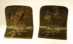 Antique cast iron EAGLE  bookends