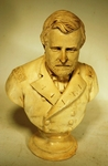 Antique cast plaster bust of GENERAL U.S.GRANT
