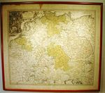 Antique map of northern Germany by HOMANN